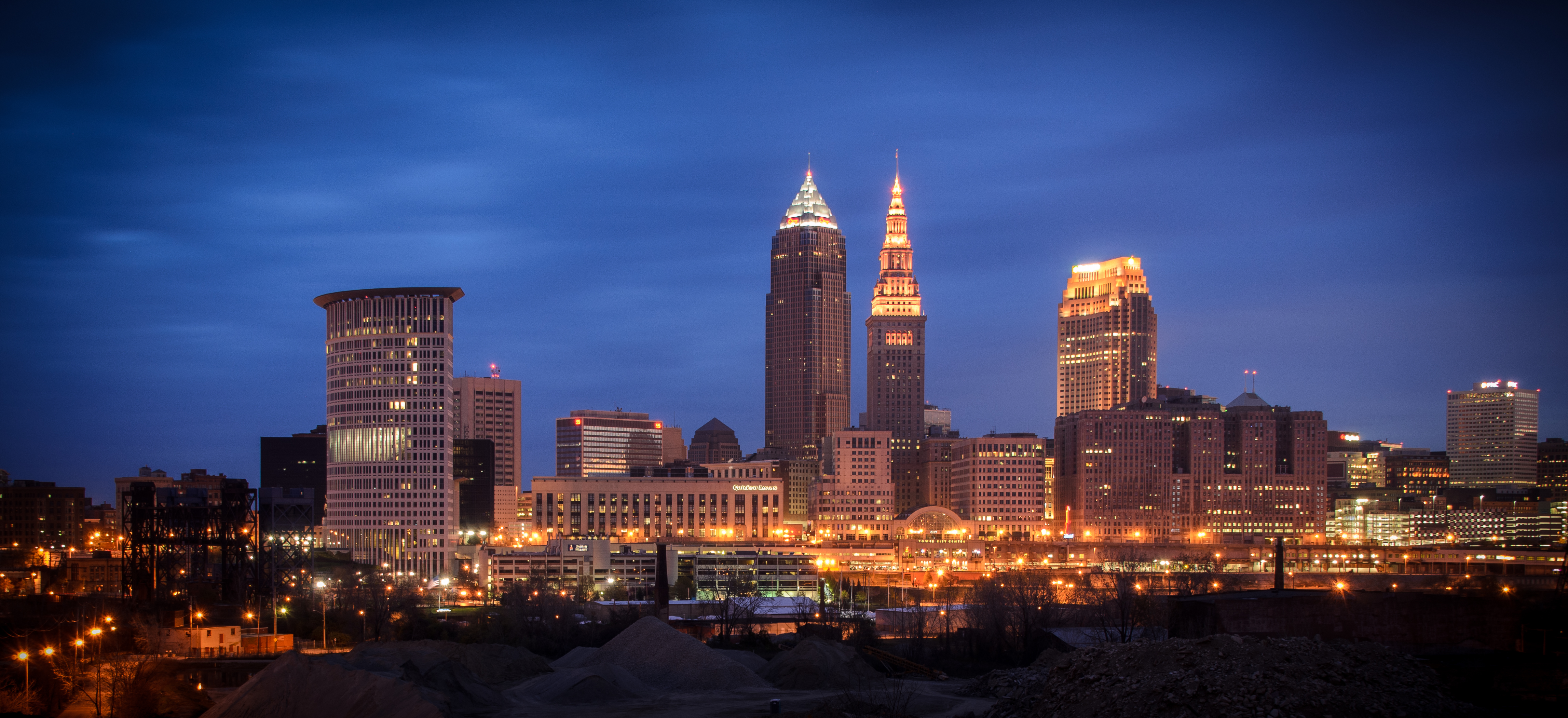 downtown cleveland ohio wallpaper - photo #29